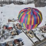 Lety balonem Tatry