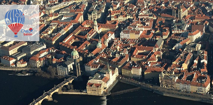 Let balónem Praha