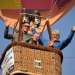 Let balónem z Konopiště