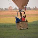 Přistání balónem Kašpárek