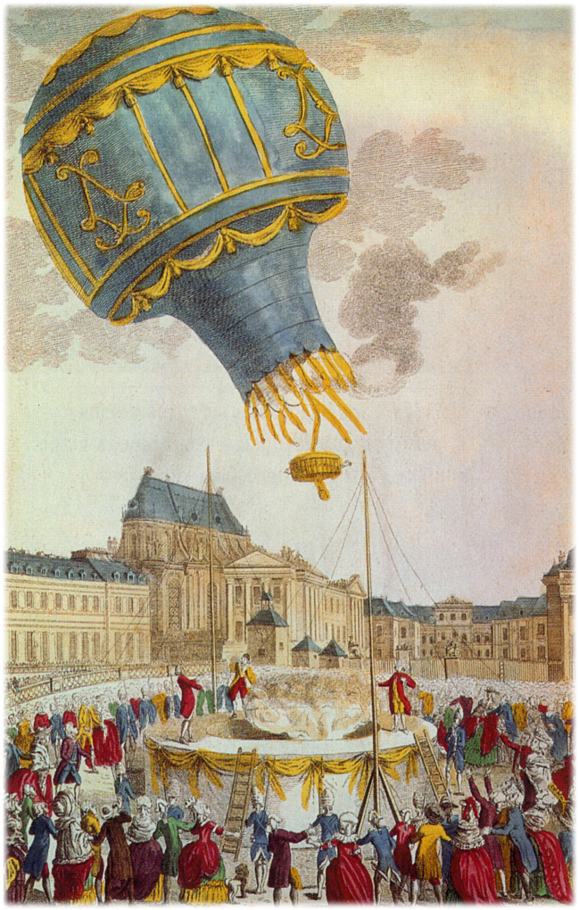lety balonem historie