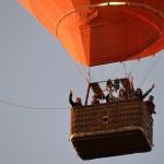 lety balónem