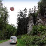 let balonem Český ráj