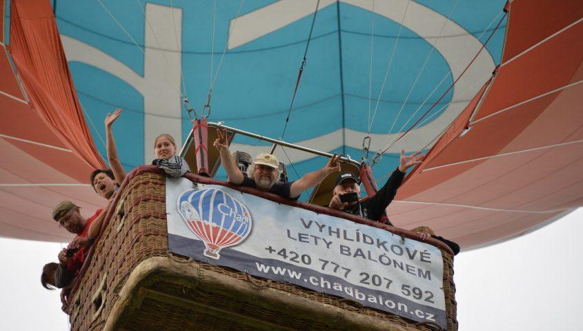 Let balónem je adrenalinový zážitek