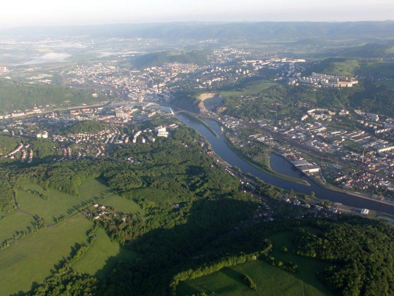 let balónem Ústí nad Labem108
