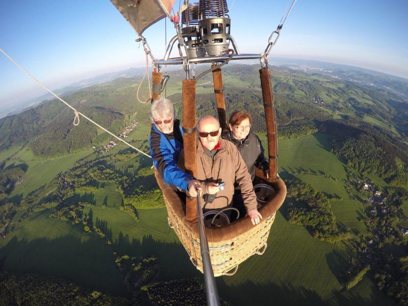 let balónem Ústí nad Labem109