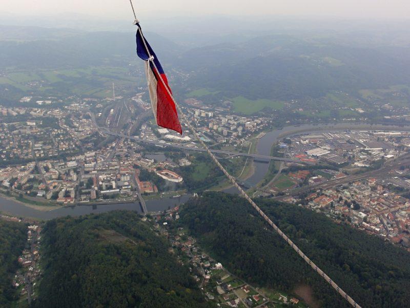 let balónem Děčín 103