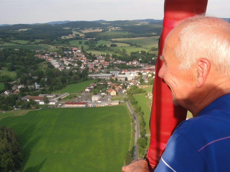 let balónem Kosova Hora103