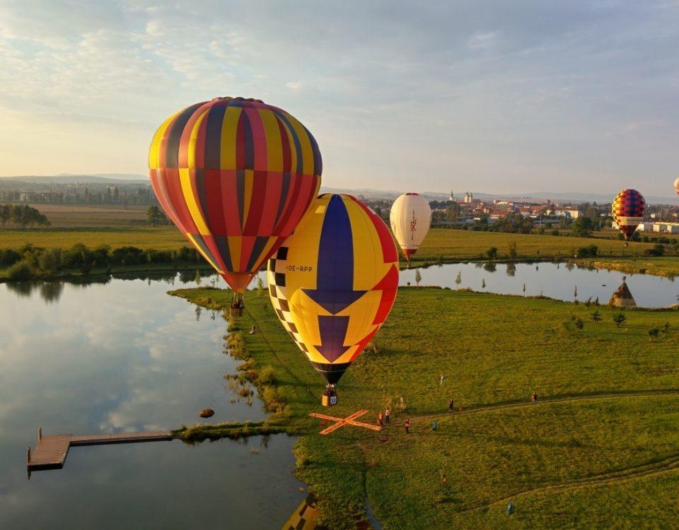 balónové létání MČR 2016