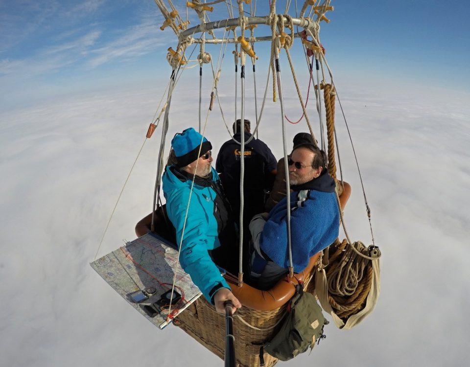 let plynovým balonem