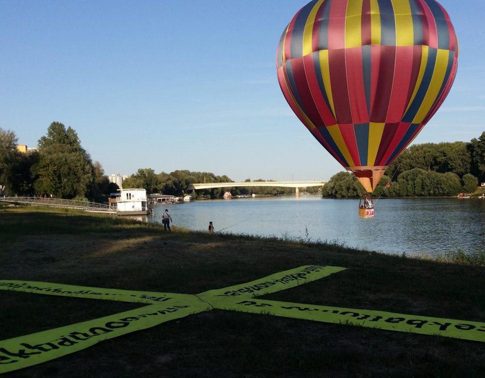 lety balonem